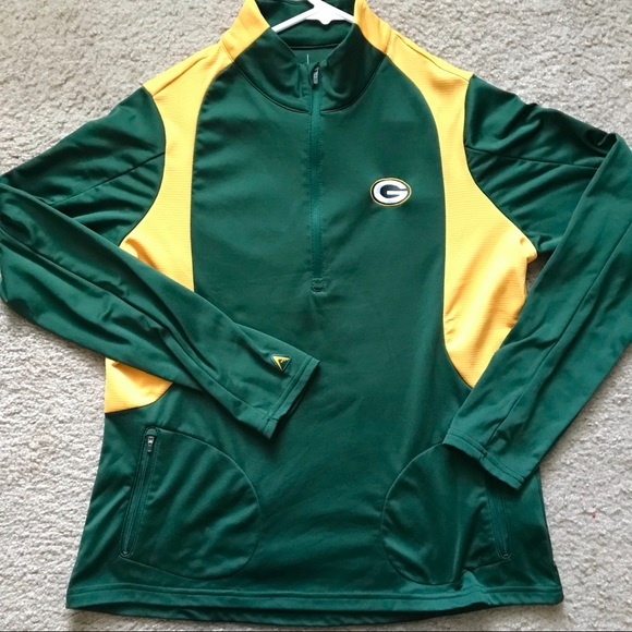 Antigua Jackets   Blazers - Green Bay Packers Football Track Jacket Antigua 969f5c58b